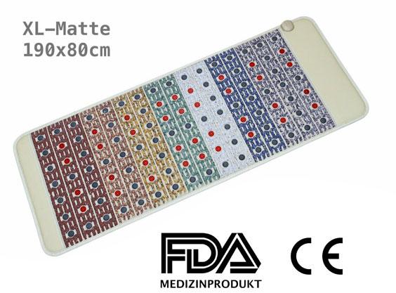 Kristallmatte Amethyst Infrarotmatte